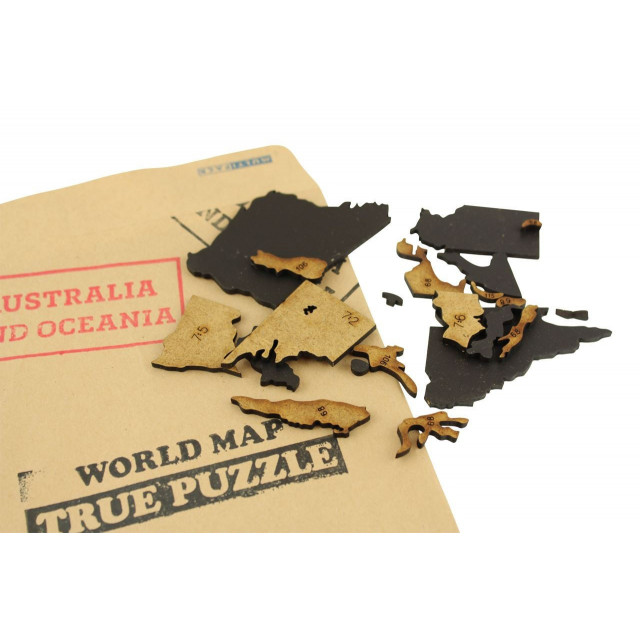 Home office luxury wooden world map burnoutstore luxury wooden world map true puzzle 100x60 black puzzle gumiabroncs Image collections
